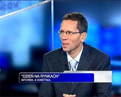 Andrzej Wierzba wywiad TVN CNBC 6 kwietnia 2010