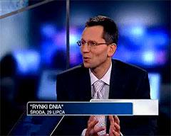 Andrzej Wierzba wywiad TVN CNBC 29 lipca 2009